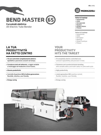 BEND MASTER 65