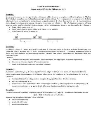 24 febbraio 2015 - Dipartimento di Farmacia
