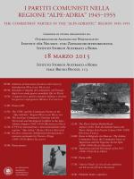 alpe-adria invito-programma - Istituto Storico Austriaco Roma