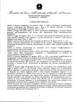 DD 24 febbraio 2015 Bando 1 - Ministero per i Beni e le Attività