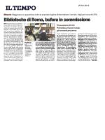Biblioteche di Roma, bufera in commissione