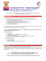 Procedura e modulo denuncia RCT Gare