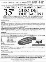 GIRO DUE BACINI 2015 volantino A4
