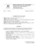decreto nomina commissione per indirizzo musicale