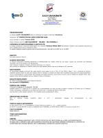 Leggi il regolamento 2007 - ASD CALVAIRATE