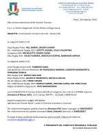 Prato, 26 Febbraio 2015 Alla cortese attenzione delle Società