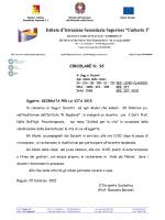 93) CIRCOLARE N 93 D GIORNATA DELLA VITA