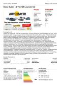 Dacia Duster 1.2 TCe 125 Laureate 4x2 Prezzo