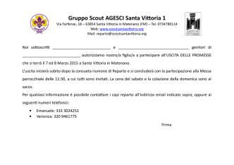 2015 Promesse Autorizz - gruppo scout agesci s.vittoria 1