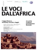 22.2.2015 scadenza presentazione domande I tappa Marocco