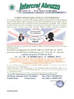 CORSO D`INGLESE LIVELLO INTERMEDIO