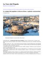 Salva in PDF - La Voce del Popolo