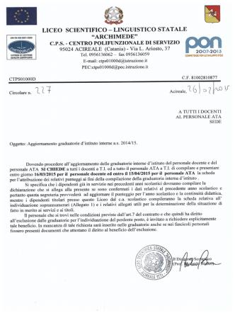 circ 227 - Liceo Archimede Acireale