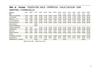 004 - A Feriale PIAZZA DEL SALE - FERROVIA - VIALE