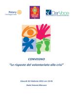 Invito Convegno Volontariato 2015