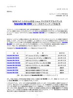 M2M/IoT システム対応 Linux マイクロアプライアンス FutureNet MA