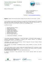 Convocazione - Canottaggio Lombardia