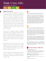 company profile - Terre di San Vito