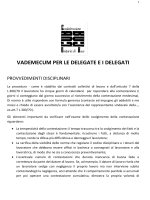 Jobs act, vademecum per delegate/i