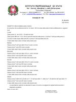 Circolare n. 138 Turni Classi dal 9 al 14 marzo 2015
