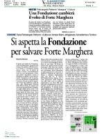 Una fondazione cambierà il volto di Forte Marghera