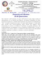 Teofilo nr 10 08 marzo 2015 - Parrocchia di Sant`Ambrogio in Seregno