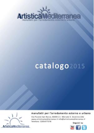 Catalogo 2015 - Artistica Mediterranea