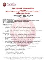Il programma - Regione Emilia