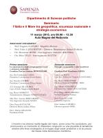 Programma - Societa Italiana Storia Militare