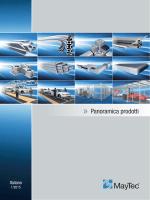 Panoramica prodotti 1/2015