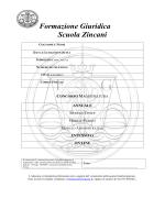 Formazione Giuridica Scuola Zincani