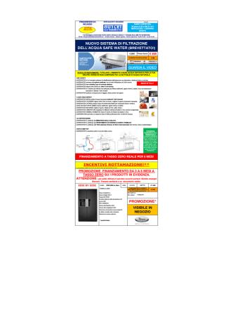 Base frigoriferi 14.xlsx - Outlet Elettrodomestici
