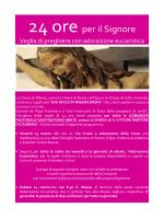 Locandina programma - Basilica San Vittore Martire Varese