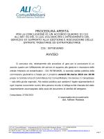 avviso seconda seduta pubblica 06/03/2015