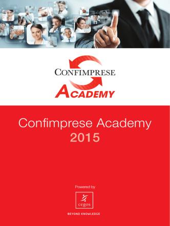 Confimprese Academy 2015