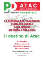 Il destino di Atac