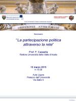 DIPARTIMENTO - Giurisprudenza - Università degli Studi di Genova