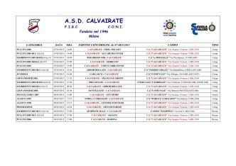 A.S.D. CALVAIRATE