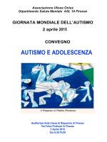 AUTISMO E ADOLESCENZA