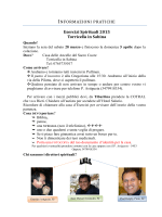 Esercizi Spirituali 2015