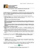 """AVVISOPUBBLICO 3 aprile 2015 - Azienda Ospedaliera """"Guido"""