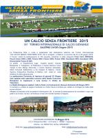 UN CALCIO SENZA FRONTIERE 2015