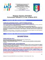 C.U. n. 47 - FIGC