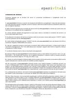 Scarica il documento sulle condizioni d`utilizzo