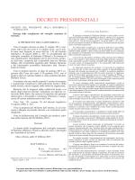 Comunicato relativo al decreto 4 febbraio 2015 del Ministero