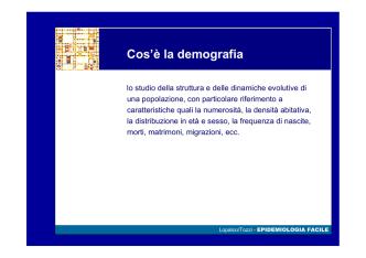 Demografia st.
