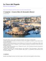 I Campioni - il nuovo libro di Alessandro Bisozzi