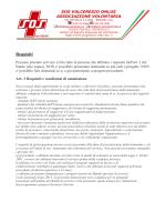 Requisiti - SOS Valceresio ONLUS