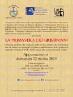 Domenica 22 Marzo - Associazione Pro Loco Bassano Romano
