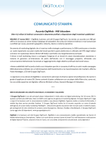 Comunicati 17/03/2015 Accordo DigiMob - INB Valuedem